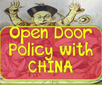 close door policy of japan Washington created an open door policy toward china it wanted to keep china's natural resources and markets free from control by japan or any other nation (music.