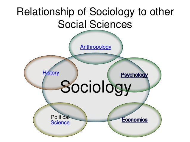 sociology and economics relationship to other sciences